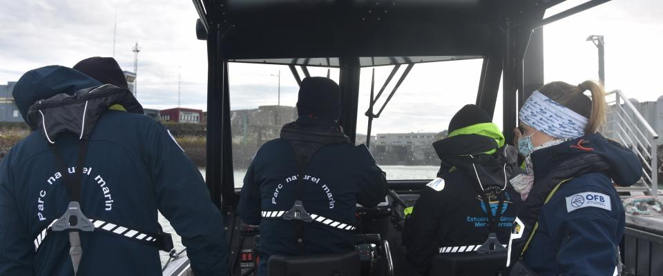 Première navigation pour l'équipe opérations nouvellement constituée